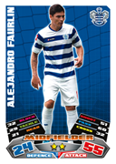 Match Attax 2012 Queens Park Rangers Cards