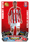Match Attax 2012 Stoke City Cards
