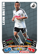 Match Attax 2012 Swansea City Cards