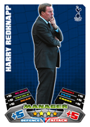 Match Attax 2012 Managers Cards