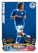 Match Attax 2012 Wigan Athletic Cards