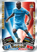 Match Attax 2012 Man Of The Match Cards