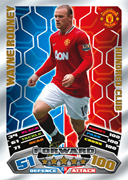 Match Attax 2012 100 Club Cards