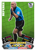 Match Attax 2012 Referee and Trophy Cards