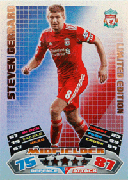 Match Attax 2012 Limited Edition Cards