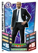 Match Attax 2013 Managers Cards