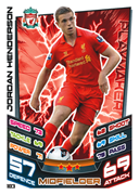 Match Attax 2013 Liverpool Cards