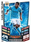 Match Attax 2013 Manchester City Cards