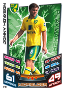 Match Attax 2013 Norwich City Cards