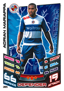 Match Attax 2013 Reading Cards