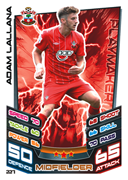 Match Attax 2013 Southampton Cards