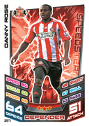Match Attax 2013 Sunderland Cards