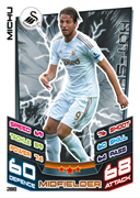 Match Attax 2013 Swansea City Cards