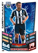 Match Attax 2013 West Brom Cards