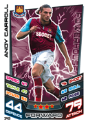 Match Attax 2013 West Ham United Cards