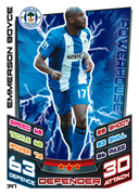 Match Attax 2013 Wigan Athletic Cards