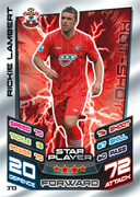Match Attax 2013 Star Players Cards