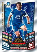Match Attax 2013 Man Of The Match Cards