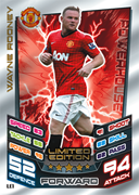Match Attax 2013 Limited Edition Cards