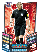 Match Attax 2013 Referee and Trophy Cards