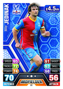 Match Attax 2014 Crystal Palace Cards