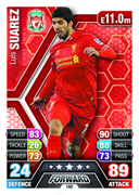 Match Attax 2014 Liverpool Cards