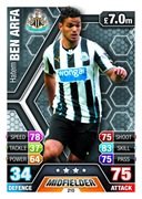 Match Attax 2014 Newcastle United Cards