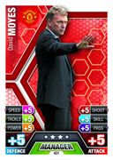 Match Attax 2014 Managers Cards