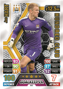 Match Attax 2014 100 Club Cards