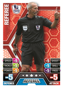 Match Attax 2014 Referee and Trophy Cards