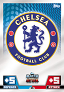 Match Attax 2015 Chelsea Cards