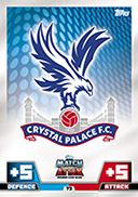 Match Attax 2015 Crystal Palace Cards