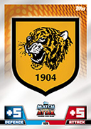 Match Attax 2015 Hull City Cards