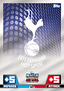 Match Attax 2015 Tottenham Hotspur Cards