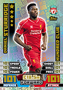 Match Attax 2015 100 Club Cards