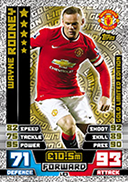 Match Attax 2015 Limited Edition Cards