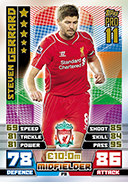 Match Attax 2015 Pro 11 Cards