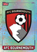 Match Attax 2016 AFC Bournemouth Cards