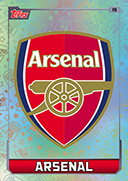 Match Attax 2016 Arsenal Cards