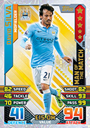 Match Attax 2016 Man Of The Match Cards