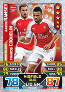 Match Attax 2016 Duo Cards