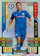 Match Attax 2016 100 Club Cards