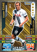 Match Attax 2016 Limited Edition Cards