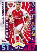 Match Attax 2017 Star Players Cards