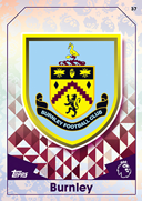 Match Attax 2017 Burnley Cards