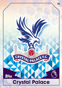 Match Attax 2017 Crystal Palace Cards