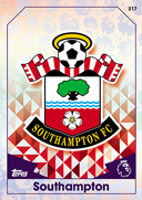 Match Attax 2017 Southampton Cards