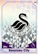 Match Attax 2017 Swansea City Cards