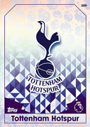 Match Attax 2017 Tottenham Hotspur Cards