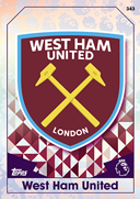 Match Attax 2017 West Ham United Cards